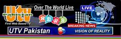 UTV Pakistan Is The Famous First Web Based TV Channel In Pakistan......
