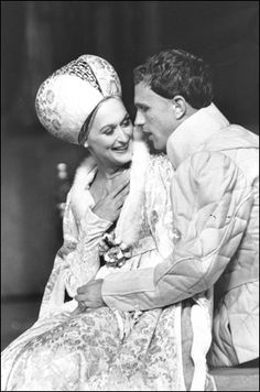 Meryl Streep and Peter Phillips in Henry V, 1976 The Delacorte Theater, NY