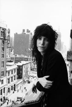 Patti Smith, musician and composer, Chelsea Hotel - 1969
