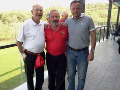 El campeón, su suegro y yo acompañanado ...