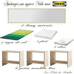 Le NIDO de Meylin: Aménager l'espace NIDO à moindre coût avec IKEA