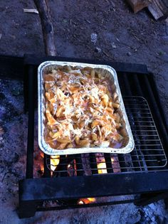 camping poutine, so canadian !