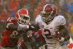 Derrick makes his move! Bama v UGA 10/03/15