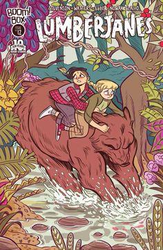 Lumberjanes #12 cover by Carolyn C Nowak