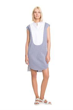 Latest Women's Fashion   Country Road Online - Pinstripe Shirt Dress
