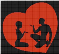 Czerwone Serce i Zakochani