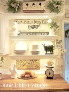 Country Kitchen - Junk Chic Cottage