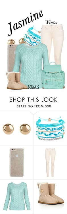 """Jasmine"" by belladels ❤ liked on Polyvore featuring Jules Smith, Domo Beads, Case-Mate, AG Adriano Goldschmied, Fat Face, UGG Australia, Atmos&Here, disney, jasmine and aladdin"