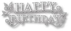 [98765] DIES- Happy Birthday Extravaganza