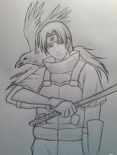 Kakashi Drawing, Naruto Sketch Drawing, Anime Drawing Styles, Naruto Drawings, Anime Drawings Sketches, Anime Sketch, Wallpaper Naruto Shippuden, Naruto Shippuden Anime, Naruto Art