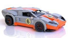 Ford GT40 Le Mans racer by The Arvo Brothers