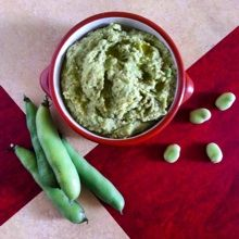 Broad Bean and Caramelised Onion Pesto - A favourite summertime foods, and a classic Fife Diet dish.
