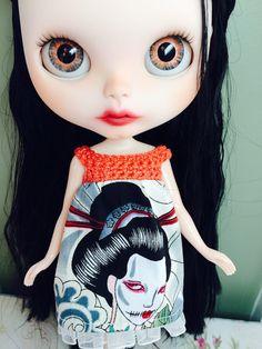 RESERVED for Deb Custom Blythe Doll OOAK named by EmmyBlythe