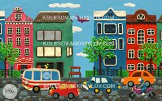 """We are working on """"Plasticine town"""" live wallpaper"""