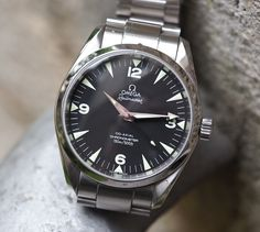 Yes, a modern watch is on but the discontinued Omega Railmaster in guise is one of the best retro watches in recent memory. Retro Watches, Modern Watches, Luxury Watches For Men, Vintage Watches, Cool Watches, Men's Watches, Sport Watches, Omega Railmaster, Best Looking Watches