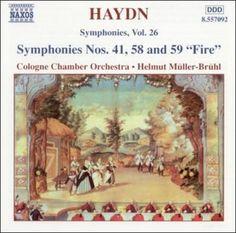 Helmut Muller-Bruhl - Haydn:Symphonies Volume 26