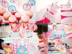 Cute Alice in Wonderland party ideas...trying to sell Abigayle on the idea!  :)
