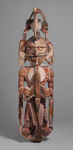 Funerary Malagan Carving - Metropolitan Museum of Art. #figure #sculpture