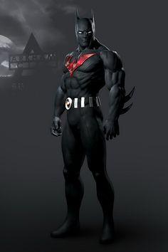 Batman Beyond.one of the best batman versions- so sweet Batman Poster, Batman Vs Superman, Batman Artwork, Future Batman, Batman Cartoon, Batman Arkham City, Spiderman Art, Batman Robin, Batman Wallpaper