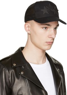 Amiri - Black Star Trucker Cap