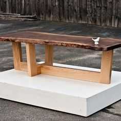 Claro Slab Coffee Table by Brian Mcalpine