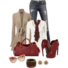 """""""Fall Outfit"""" by dk1991 on Polyvore"""
