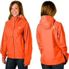 Northface rain/lightweight jacket but not in this color... too bright for me!
