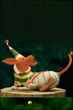 Krinkles by Patience Brewster - Dachshund Ornament