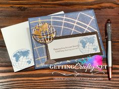 Getting Crafty with Jamie: World of Beauty handmade card College Classes, Happy Mail, Perfect For Me, Paper Pumpkin, Starter Kit, Connect, Stampin Up, About Me Blog, Crafty