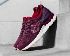 Sneakers femme - Asics Gel Lyte V Rioja Red (©feature)