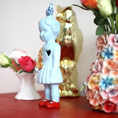 Clonette doll by Lammers en Lammers, two Dutch sisters who make traditional Dutch figures in porcelain.