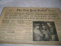 Doolittle raiders, 18 April 1942 worldwartwo.filminspector.com