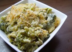 Cheesy Broccoli Gratin