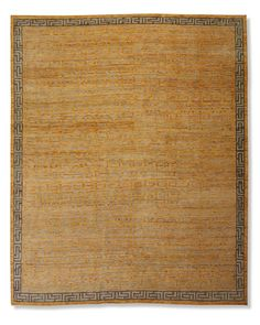 Hand-Knotted Zhara Maze Rug   Williams-Sonoma