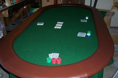 First Poker table I made