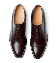 Joe Cap-Toe Oxford - Espresso Full Grain - Jack Erwin
