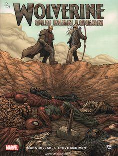 Wolverine (Comic) - Old man Logan Xmen, Wolverine Old Man Logan, Old Logan, Avengers, Mark Millar, Word Pictures, Marvel Universe, Marvel Dc, Geek Stuff