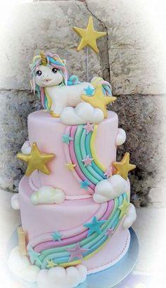 UNICORN CAKE - cake by Valeria