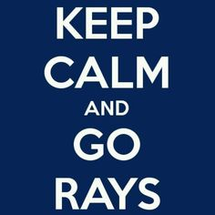 Love what this fan made! #raysbaseball