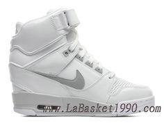 new concept 9a0a4 b4767 Nike Air Revolution Sky Hi GS 599410-102 Chaussure Montante Nike Pas Cher  Pour Femme