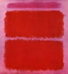 Mark Rothko, Mauve and Orange, 1961
