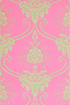 Anna French Wallpaper And Fabric Wild Flora Damask