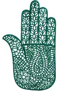 hamsa, I love this design. I fear the time in the chair to get it... ;O)