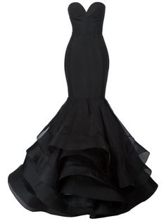 Shop Christian Siriano ruffled mermaid gown in Christian Siriano from the world's best independent boutiques at farfetch.com. Shop 400 boutiques at one address.