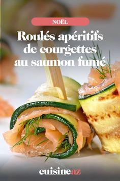 Ces roulés de courgettes au saumon fumé sont délicieux pour changer du traditionnel apéritif !Cette recette facile peut être servielors des apéros des fêtes de fin d'année.#recette #cuisine #noel #fete #saumonfume #courgette #aperitif #apero