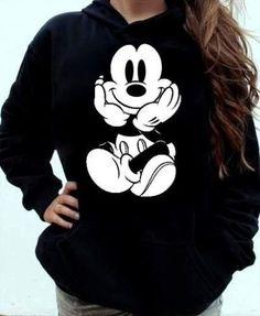 blusa de moletom feminina Mickey Mouse