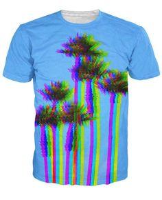 Holga Palm Trees T-Shirt www.myyutes.com