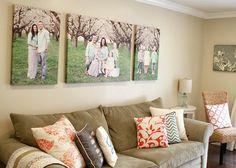 Family Photos, Wall display