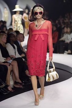 Christian Dior by John Galliano Resort 2008 Fashion show & more details