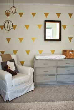 Love of Interiors: Nursery Update, Wall Decals and GIVEAWAY